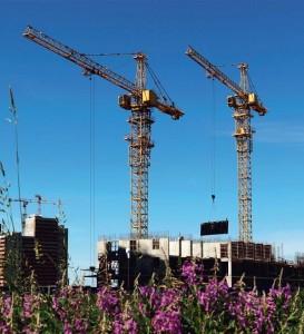 Строительство жилых комплексов во Всеволожском районе Ленинградской области