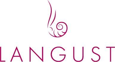 """Лого ресторана """"Лангуст"""""""