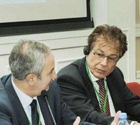 Эльгиз Качаев и Герберт Якоби на II Форуме бизнеса Северо-Запада
