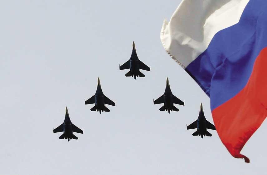 Авиашоу военных самолетов