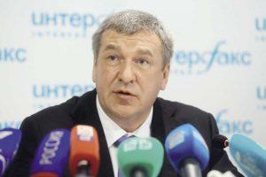 Игорь Албин на пресс-конференции (Чтобы увеличить, кликните на фото)