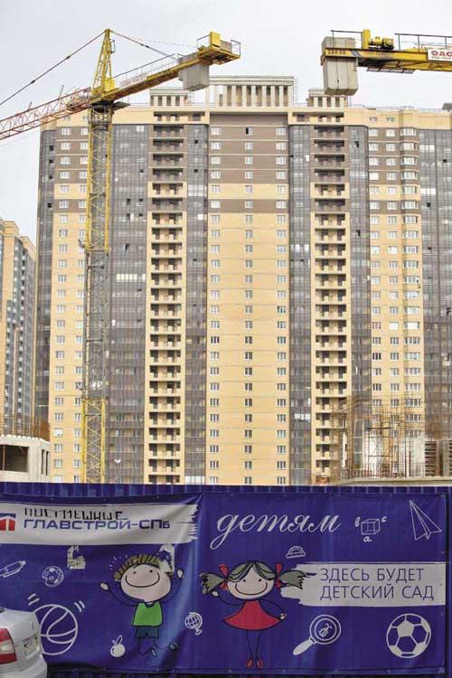 Несмотря на объективные экономические трудности, строителям Петербурга удалось сохранить стабильность отраслевых показателей (Чтобы увеличить, кликните на фото)