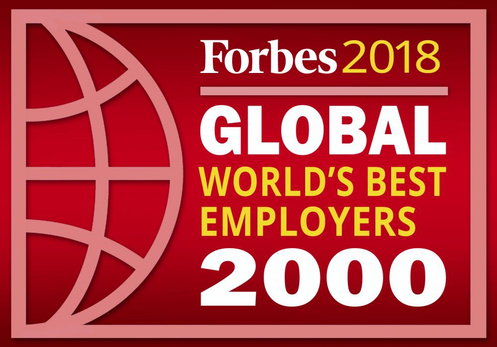 Лучшие работодатели мира Forbes